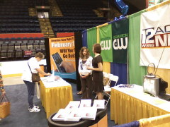 WBNG's DTV Booth at the Business Show