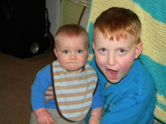 Silly brothers Damion & Gavin