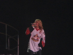 Carrie Underwood takes the stage