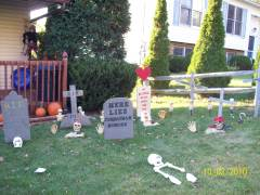Welcome to the Harry Scary Cemetary