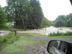 Flooding on Cloverdale and Sapbush Rd