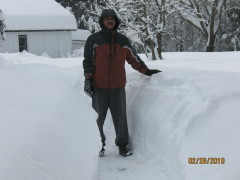 Storm dumps over 3 feet of snow