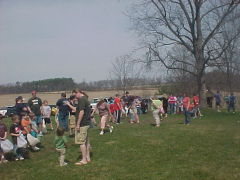 Goodrich Settlement Easter Egg Hunt 2010