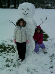 Frosty the Snowman spotted in Apalachin!