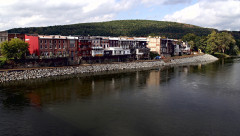 Work continues on Owego's Riverwalk