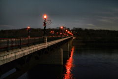 Lights on the River/Court Street Bridge