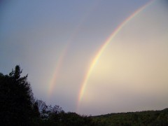 Double Rainbows