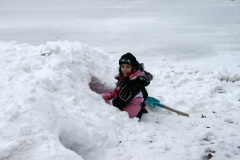 Snow tunneling