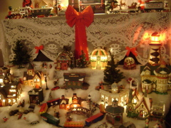 Christmas Village Tradition