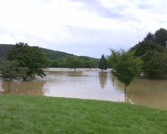 Flooding In Athens, PA
