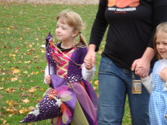 Halloween Parade at LW West Elem School