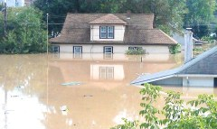 Flooding in Westover