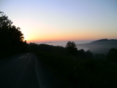 Sunrise over Owego