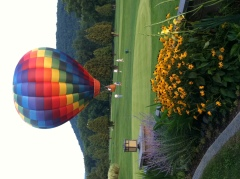 Hot Air Balloon Landing at McGirk's