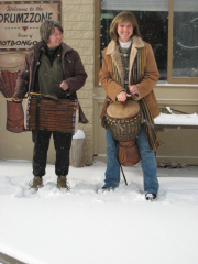 Any Weather is Drummin' Weather!