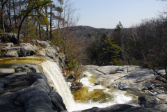 Waterfalls in Minnewaska State Park