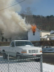 Owego house on fire Pic.2