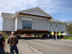moving the building across 96