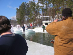2009 Polar Bear Jump at Goodyear Lake