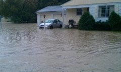 Flooding in Apalachin