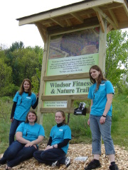 Girl Scout Gold Award Fitness Trail