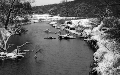 Page Brook Winter Scene