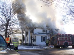 Village of Owego house fire