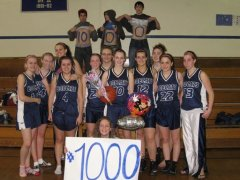 Mariah Schaeffer Hits 1000 Points!