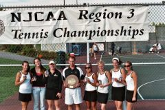 BCC Women's Tennis Champs