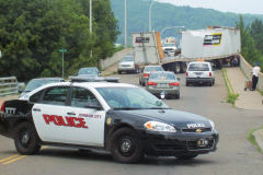Accident in Johnson City