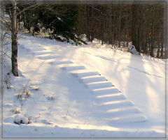 Stairway to...More Snow!