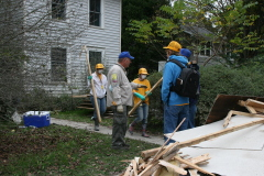 Southern Baptist Disaster Relief Crew