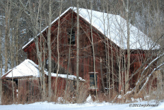 Old Barn near Polkville