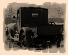 Model A Ford Trucks Built Ford Tough