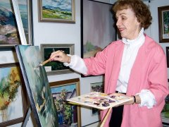 Marian Simpson to give art talk