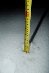 almost 5 inches in Windsor