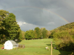 Rainbow in Newark Valley