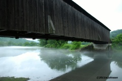 Visited two covered bridges today.