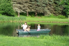 Boat Ride Around The Pond
