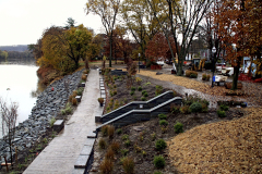 Owego's River Walk nears completion