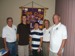 Apalachin Lions Club  and  HOBY