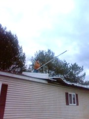 STORM DAMAGE IN CONKLIN ON NOV 16 11 PM