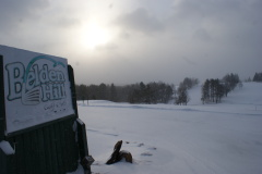 Golf in Winter