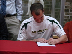 Mike Spadine, OFA, signs with LeMoyne
