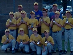 Harpursville Youth Little League Champs