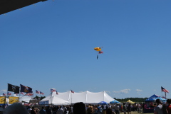 Golden Knights Open Binghamton Air Show