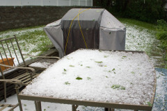 Hail & Heavy Winds Hit Walton