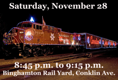 Canadian Pacific Holiday Train Nov 28