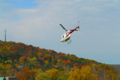 Helicopter Rides at BU Thursday