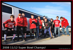 Card's 11/12 Yr Old Super Bowl Champs!